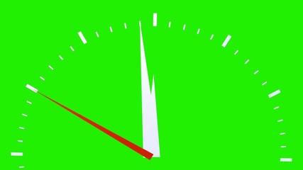 kurz vor Zwölf / Uhr - Green Screen