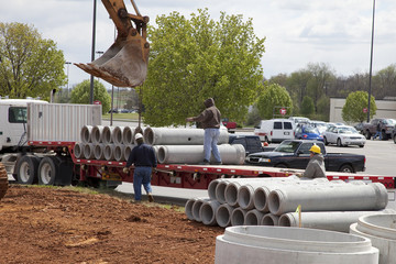 Drain pipe new construction