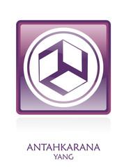 Antahkarana YANG icon Symbol