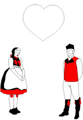 Bauer & Bäurin in love