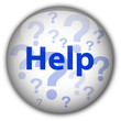 """Help"" button (blue/white)"