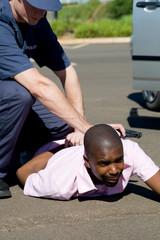 police arrest suspect