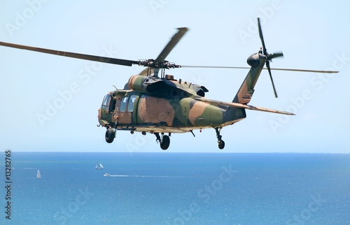 Foto op Aluminium Helicopter Army Blackhawk