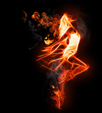 Symbol flamy