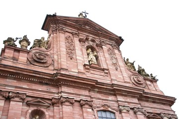 jesuit church Heidelberg