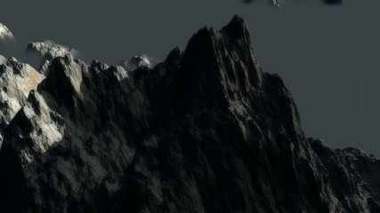 Moutain animation loop HD720