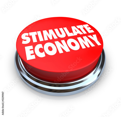 Stimulate Economy - Red Button
