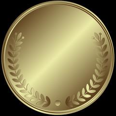 Silver medal (vector)