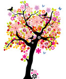 Fototapety Blooming tree