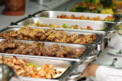 Leinwandbild Motiv banquet table