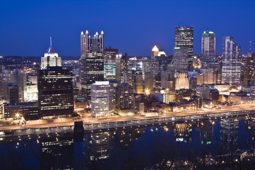 Skyline of Pittsburgh