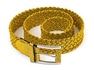 Gold woman belt