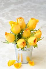 Bucket Of Roses