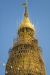 Myanmar Yangon - Top of Shwedagon Pagoda