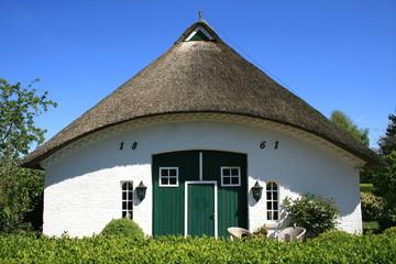 Haus, Fischerdorf, Kopperby Arnis, Schleswig-Holstein