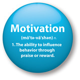 Motivation Definition Icon poster