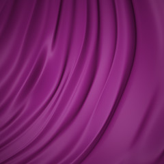 Flowing purple background