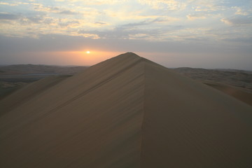 Sonnenuntergang Liwa