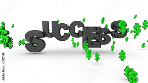 Success Dollar Signs