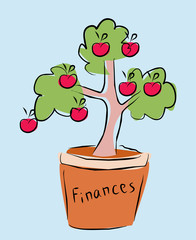 finances tree