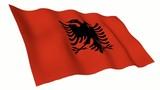 Albania Animated Flag poster