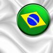 roleta: Bandiera Spilla-Badge Flag-Drapeau Brésil