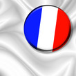 roleta: Bandiera Spilla Francia-France Badge Flag-Drapeau France