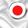 roleta: Bandiera Spilla Giappone-JapanBadge Flag-Drapeau Japon