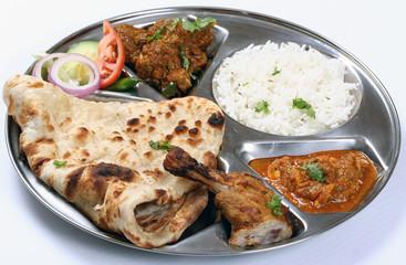 south asian thali combo