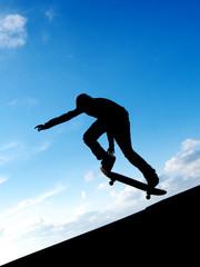 Skater in sky