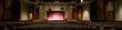 Leinwanddruck Bild - Panorama of Auditorium