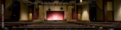 Leinwanddruck Bild Panorama of Auditorium