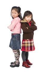 Pouting Girls