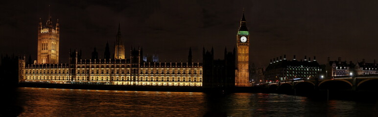 Westminster Palace de nuit
