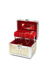 Casket with jeweller