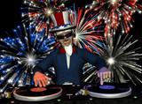 Uncle Sam DJ - Fireworks poster