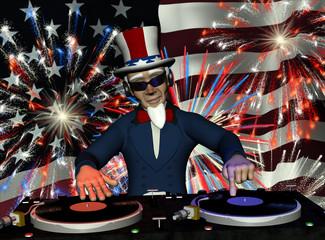 Uncle Sam DJ - Fireworks