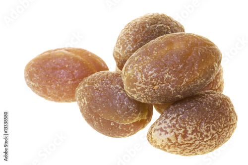 Dehydrated Olives Isolated