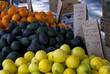 fruits and vegetables for sale at farmers market