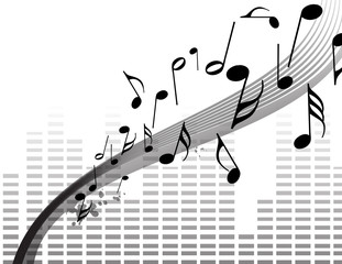 music black&white