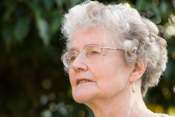 Portrait Of Senior Lady