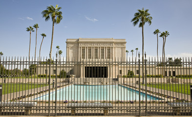 Mormon Temple in Mesa Arizona