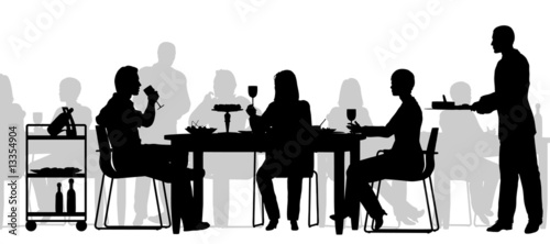 Scena restauracji