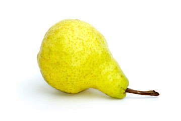 Lying yellow-green pear