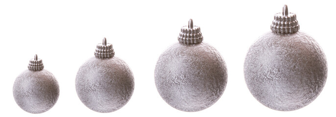 Increasing Silver Baubles