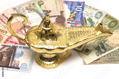 Gold Magic Lamp