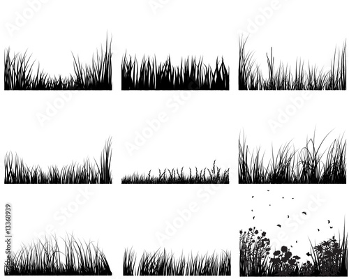grass set
