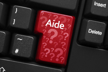 """Aide"" key on keyboard (French)"