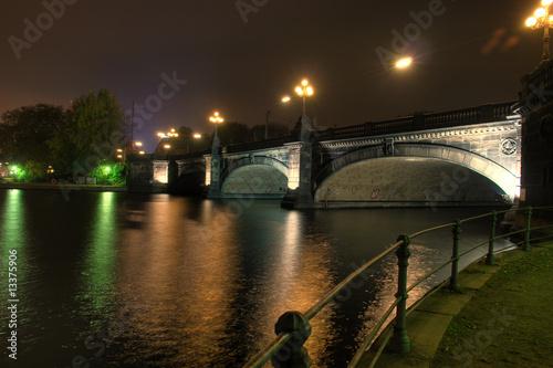 Lombardsbrücke Hamburg HDR