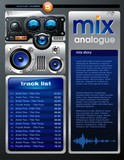 MP3 Player Brochure poster